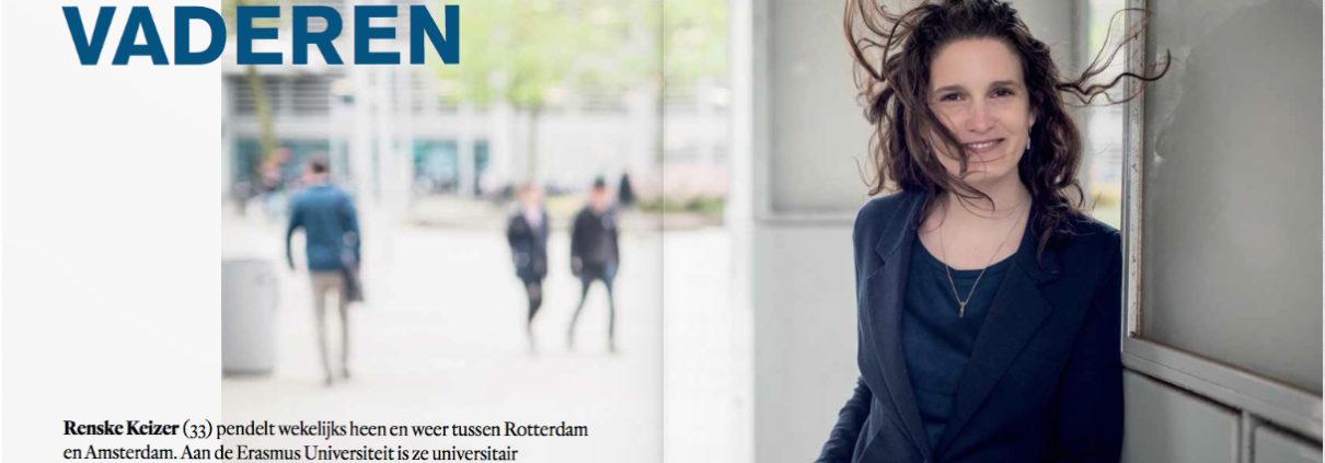 Interview prof. Renske Keizer, hoogleraar Vaderschap, in Opzij (juni 2017)